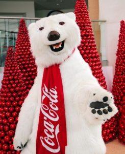 Ростовая кукла для бренда, костюм медведя