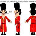 ростовая кукла грузин