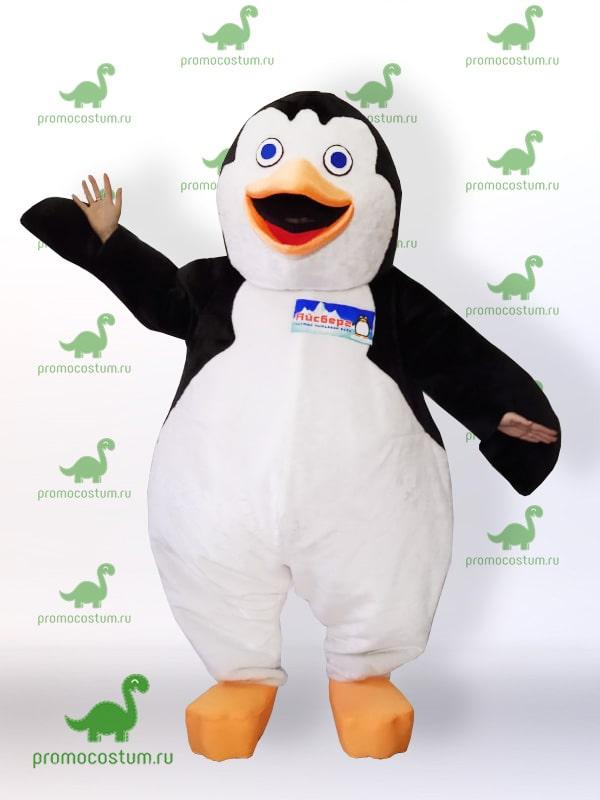 ростовая кукла пингвин, костюм пингвина